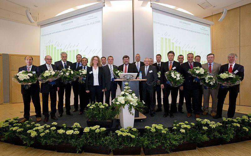 Auszeichnung VW Kassel für Liefertreue